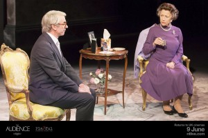 John Major (Paul Ritter) and Queen Elizabeth II (Helen Mirren). Photo by Johan Persson.-2